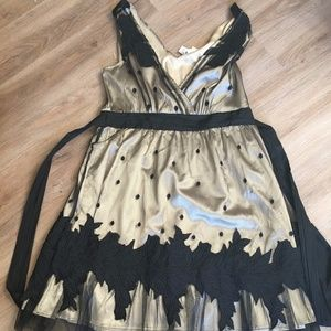 Gorgeous black and gold Ryu: dress